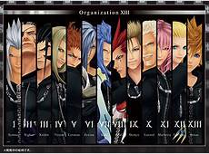 Kingdom Hearts Organization XIII 1,000 piece jigsaw puzzle