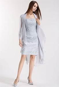 veste en mousseline avec manches 3 4 With veste pour robe de soirée
