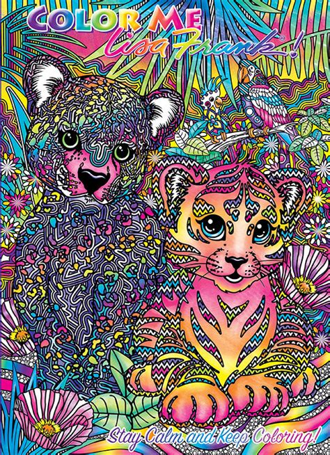 lisa frank adult coloring book lisa frank adult coloring books exist and we re psyched