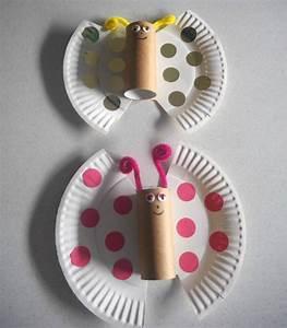 Basteln Mit Eierkartons Frühling : 25 bastelideen f r kinder zum basteln mit pappteller zu ostern fr hling ~ Frokenaadalensverden.com Haus und Dekorationen