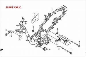 Perbedaan Rangka Frame Yamaha Xeon Vs Honda Vario  Beat Vs