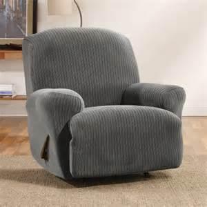 sure fit ribbon stripe recliner slipcover walmart com