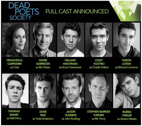 hochman cast broadway production dead poets society