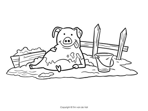 Three Little Pig Coloring Pages Eskayalitim