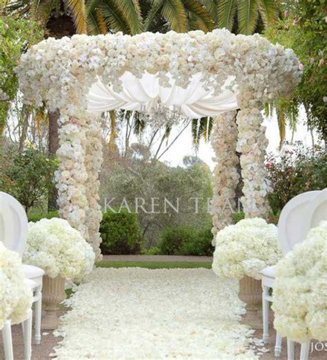 Wedding Inspiration An Outdoor Ceremony Aisle ~ Wedding Bells
