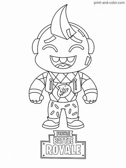 Fortnite Coloring Pages Boys Cartoon Fornite Colouring