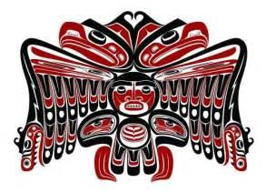 Pacific Northwest Native American Thunderbird Art