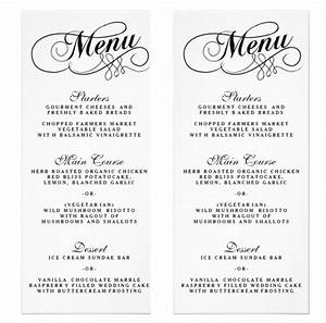 wedding menu template beepmunk With menu templates for weddings