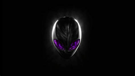 UHD 4K Alienware Logo Purple Eyes #889