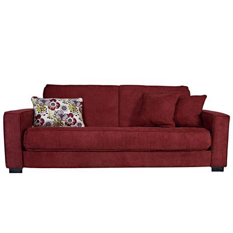 Grayson Convertacouch Fullsize Sleeper Sofa  Red Wine