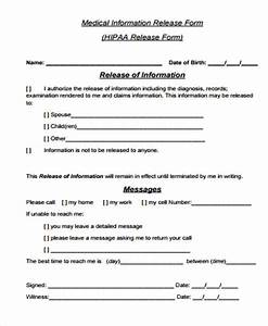 General Release Form Sample 8 Examples in Word PDF