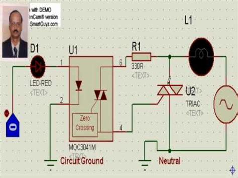 ac load interface  microcontroller youtube