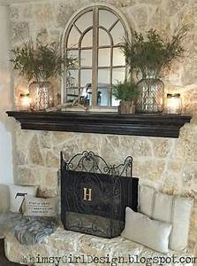 Best over fireplace decor ideas on mantle