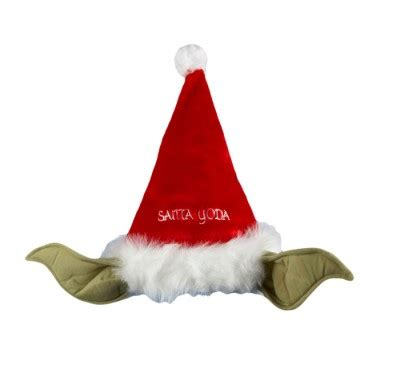 where do they sell santa hats it s only october but yodaclause is coming to town 187 fanboy