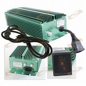 600w Super Lumen Mh Hps Digital Ballast 600 Watt 120v  240v