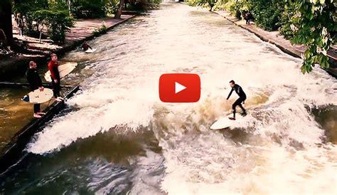 river surfing  munichs english garden  inertia
