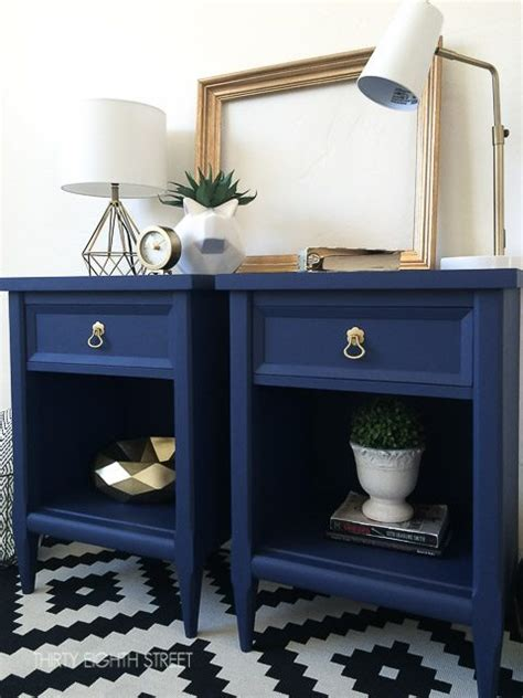 navy painted furniture makeovers craftivity designs