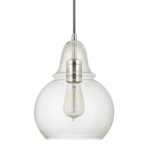 capital lighting 4644pn 143 polished nickel pendant