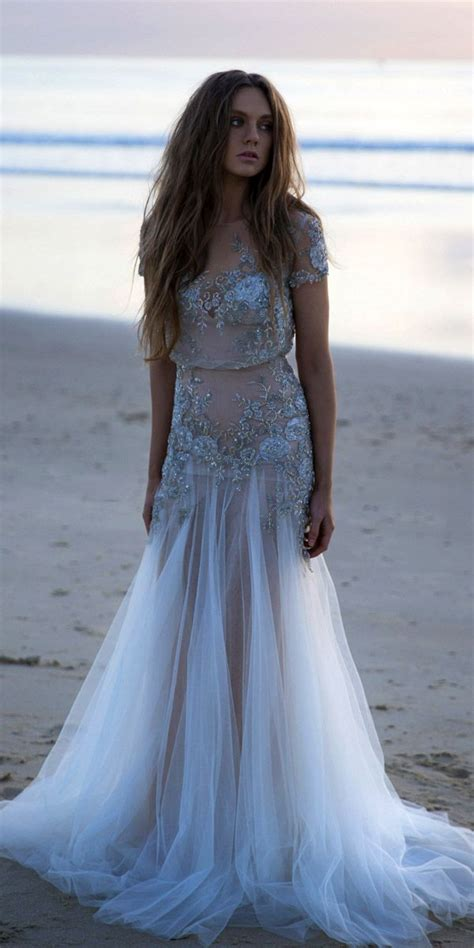 1000 ideas about beach wedding dresses on pinterest