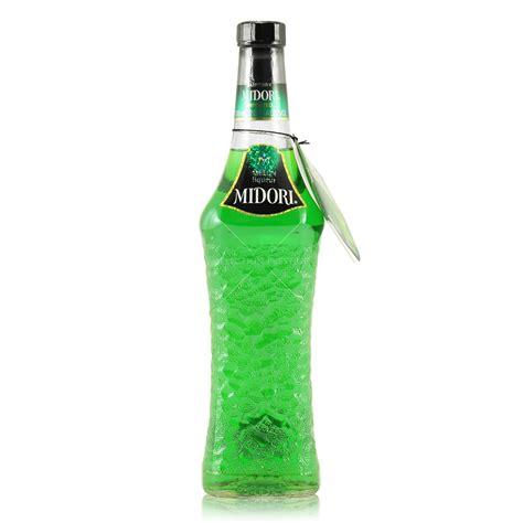 midori liquor midori melon liqueur 0 7l 20 vol midori liqueur