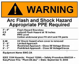 arc flash risk assessment hazard analysis With arc flash policy template