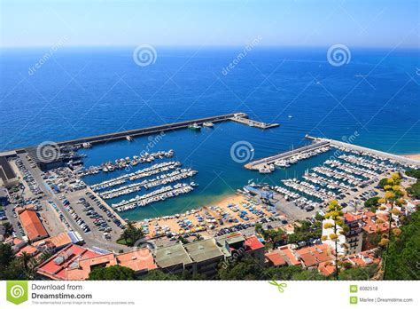 Blanes Port Costa Brava Spain Royalty Free Stock Photos