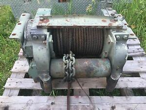garwood 20 000 lbs pto 5 ton hydraulic electric winch heavy duty used ebay