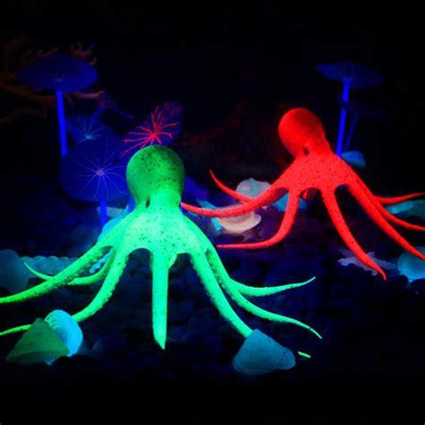 pcs fish tank silicone artificial octopus aquarium fish