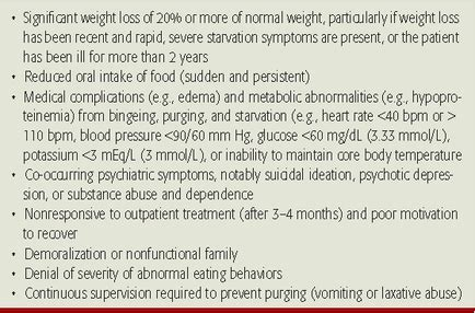 treatment anorexia nervosa