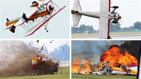 Plane crash kills pilot, wing walker at Ohio air show ...