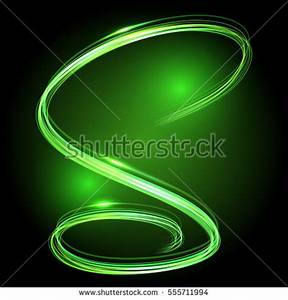 Beautiful Colorful Vector Light Effect Neon Stock Vector