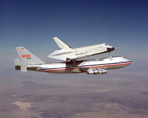 Our Spaceflight Heritage: a piggyback ride for Enterprise ...