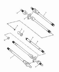 1998 Dodge Ram 3500 Regular Cab Front Axle Shafts