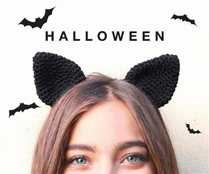 Cat Ears Crochet Pattern Headband Halloween Patterns