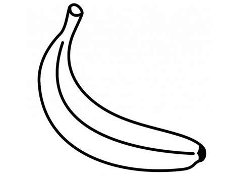 banana template banana coloring pages print coloring home