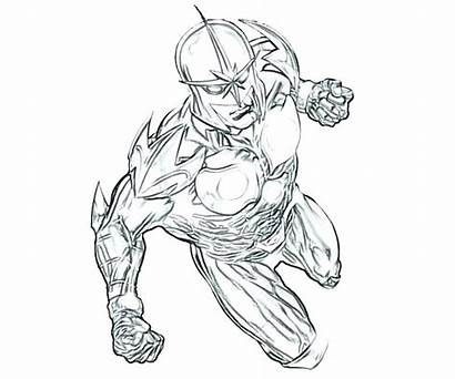 Coloring Marvel Pages Dc Comics Characters Comic