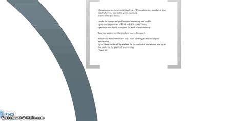 cambridge igcse directed writing modelling letter youtube