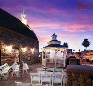 The terrace venue at vegas weddings is a lovely outside for Las vegas sunset weddings