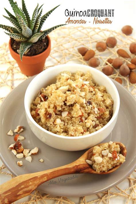 comment cuisiner tofu quinoa croquant amandes et noisettes 1 2 3 veggie