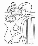 Coloring Pages Farm Breakfast Boy Printable Colouring Activity Fun Print Sheet Help Honkingdonkey Popular sketch template