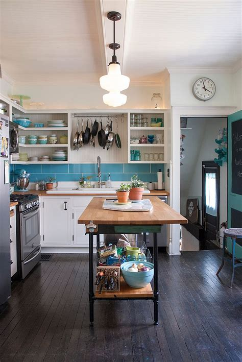 Eclectic kitchen with a light and breezy ambiance along