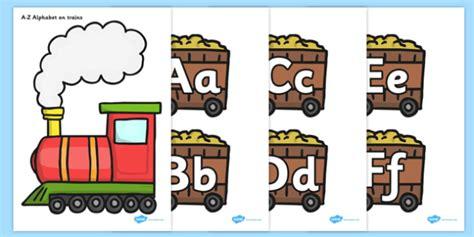A-z, A4, Display, Alphabet Frieze