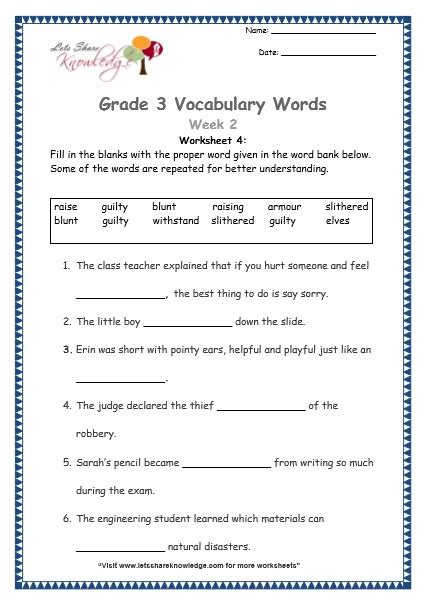 all worksheets 187 vocabulary worksheets grade 4 printable