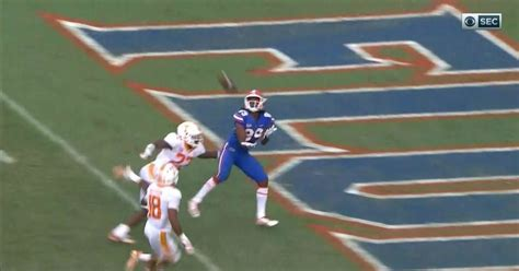 florida hail mary  tennessee video gators win  final