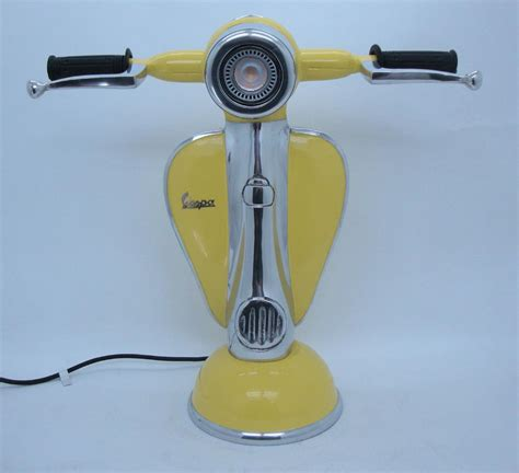 Handmade Ceramic Lamp by Vespa Table Lamp Choice Of 6 Colours Led Bulb