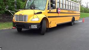 Cdl Class B Skills  School Bus Parallel Parking