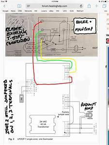 How Can I Add Additional Circulator Relay To Existing Thermostat  Zone Valve Wiring   U2014 Heating