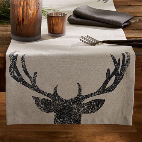 park designs table runner deer antlers table runner 16 quot x 54 quot park designs