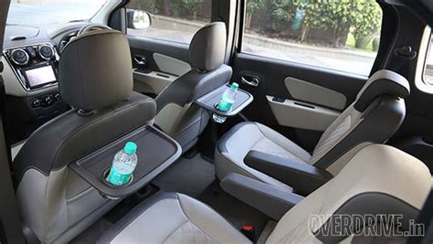 renault lodgy seating 2015 renault lodgy mpv review road test india review