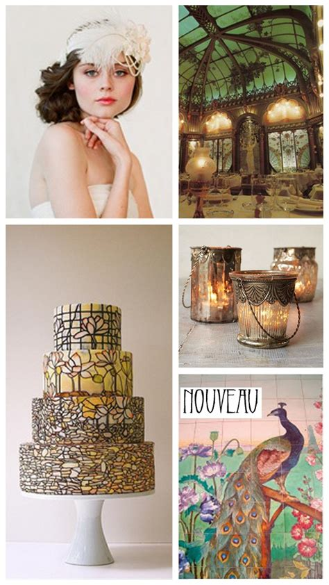 Art Nouveau Wedding Inspiration And Ideas Want That
